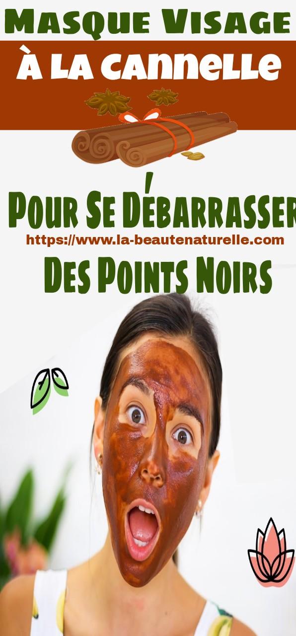 Masque Visage À La Cannelle Pour Se Débarrasser Des Points Noirs