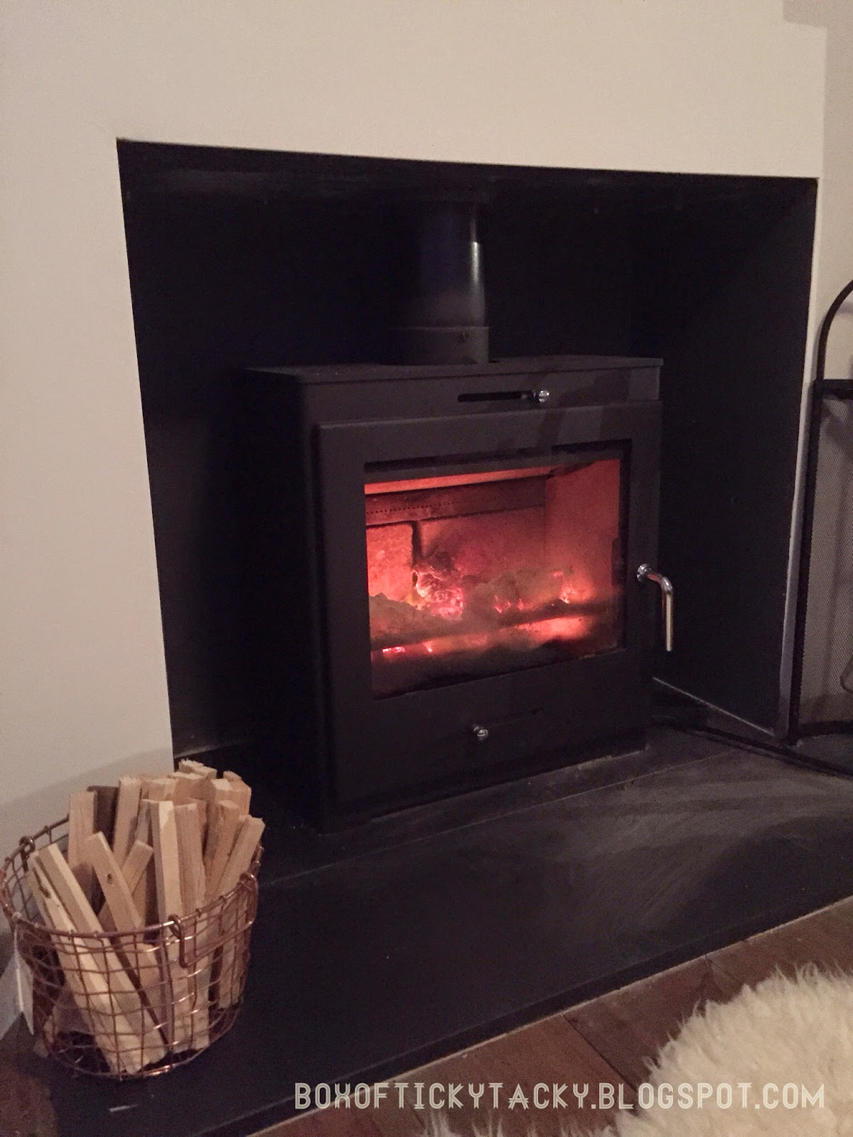 hygge wood burning stove