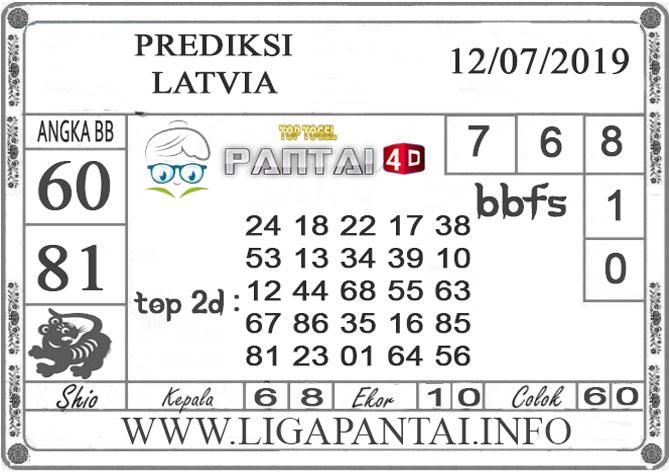 """PREDIKSI TOGEL """"LATVIA"""" PANTAI4D 12 JULI 2019"""