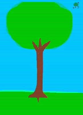 drzewo z painta