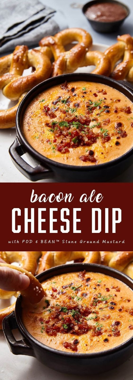 Keto Bacon Ale Cheese Dip
