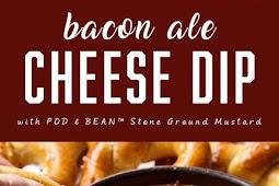 Keto Bacon Ale Cheese Dip