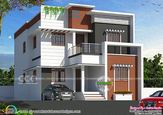 Modern home design by Reflex studio from Tamilnadu