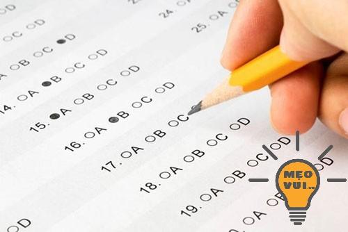 Bí kíp làm bài thi trắc nghiệm cực hiệu quả