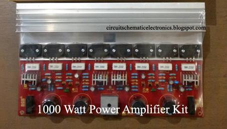 How to Create 1000 Watt Power Amplifier  Electronic Circuit