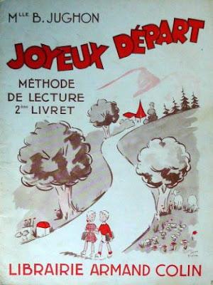 """""""Joyeux départ"""", méthode de Mlle Jughon, édition de 1961 (collection musée)"""