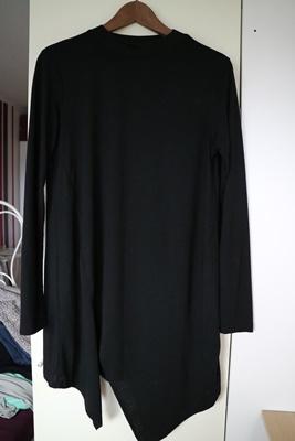 Shoppingausbeute | Januar - www.josieslittlewonderland.de , haul, new yorker, fashion, new yorker haul, schwarzes shirt, asymetrischer schnitt, stehkragen,