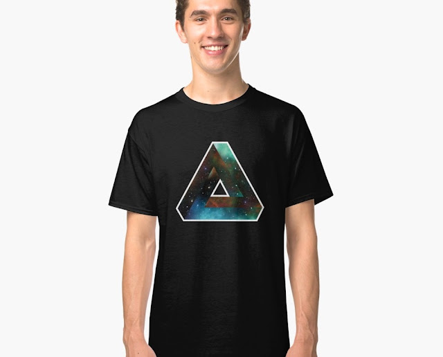 Penrose tribar Universum T-shirt - graphic illusion