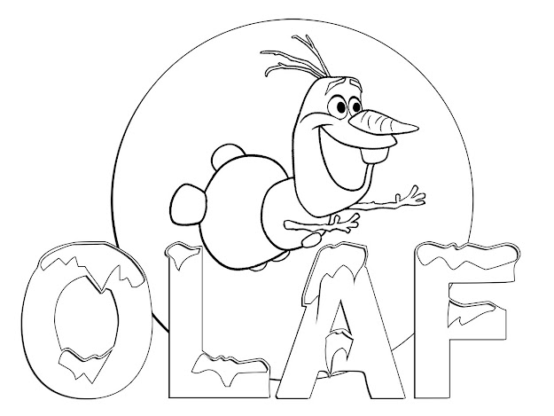 All The Disney Frozen Characters Coloring Pages  Only Coloring Pages