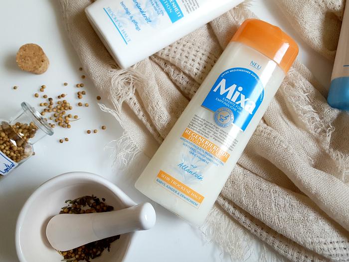Tue deiner Haut etwas Gutes mit Mixa - Regenerierende Duschcreme mit Allantoin für sehr trockene Haut