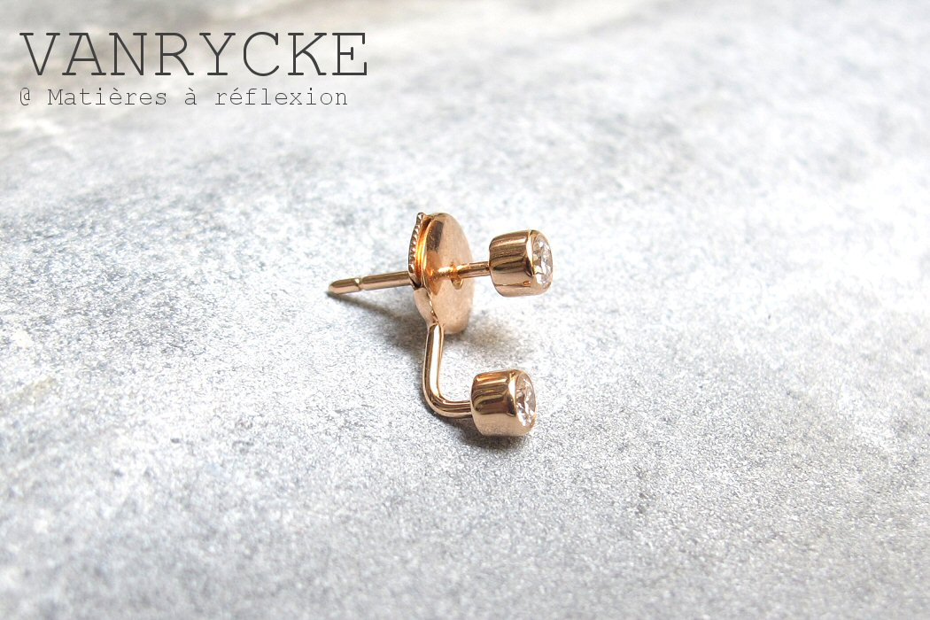 Vanrycke boucles d'oreille