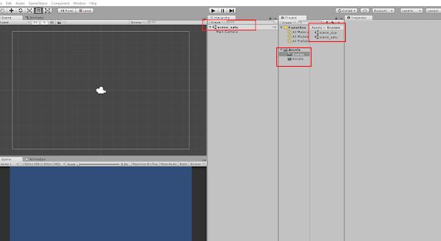 Cara Berpindah Scene atau Level Menggunakan Unity3d