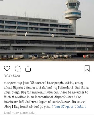 Actress Mary Njoku Force To Jet Out Go Pee