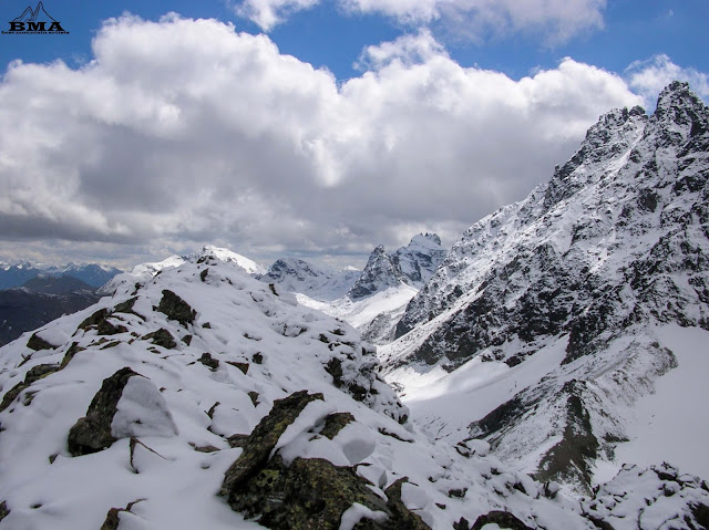 wandern-ischgl Fluchthorn Schnapfenspitze Silvretta Bergtour