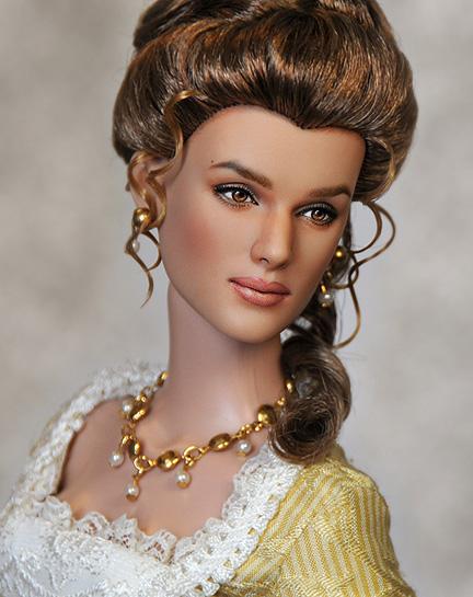 Muñeca o figura de acción con increíble parecido Keira Knightley