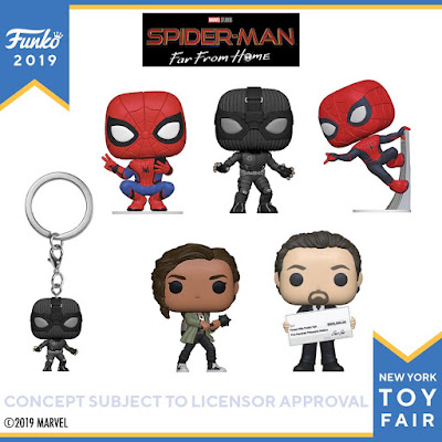 Spider-Man Far From Home Pop! Marvel Vinyl Figures by Funko