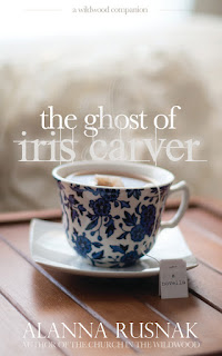 the ghost of iris carver cover art - first inspiration