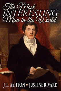 Book Cover - The Most Interesting Man in the World by J L Ashton and Justine Rivard