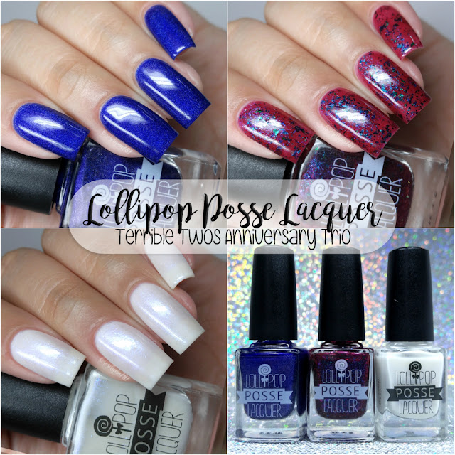 Lollipop Posse Lacquer - Terrible Twos Anniversary Trio