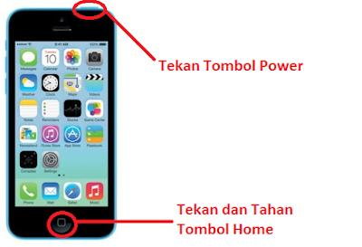 Cara Paling Mudah Screenshot Iphone 5
