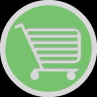 cart button outline