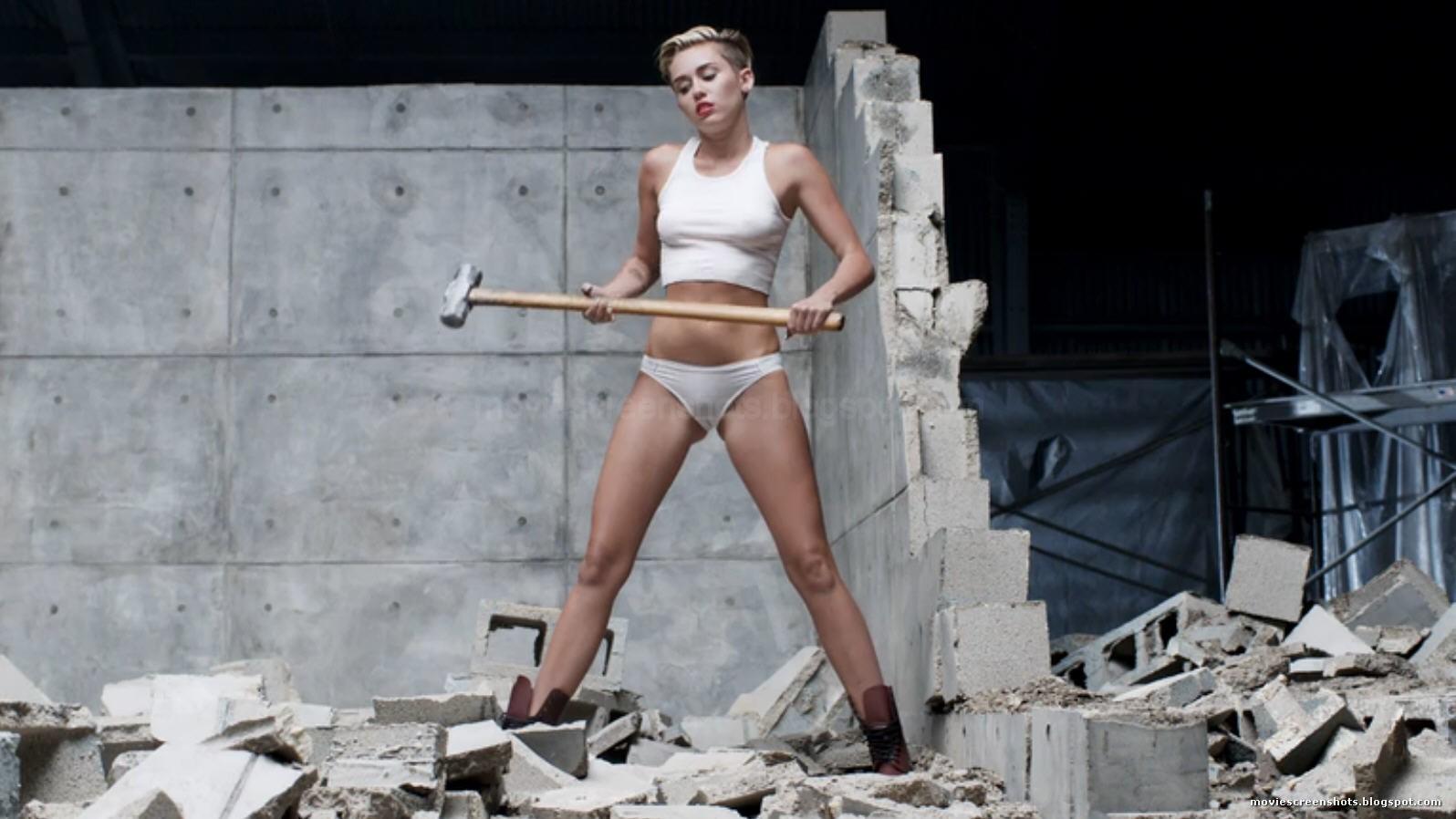 Vagebond's Movie ScreenShots: Miley Cyrus - Wrecking Ball ...
