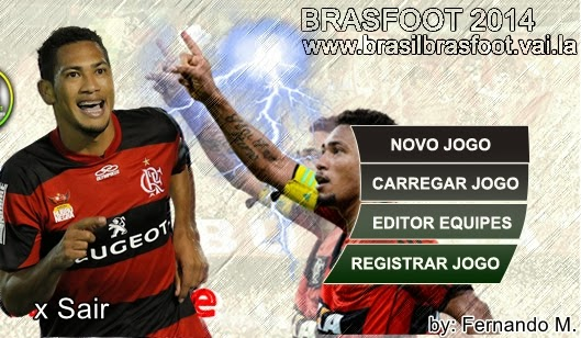 Skin do Hernane, o Brocador  - Brasfoot 2013