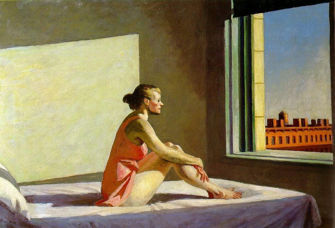 Sol da Manhã - Edward Hopper e suas principais pinturas ~ O pintor da solidão