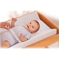 Strap babies onto the changing table to avoid falls.