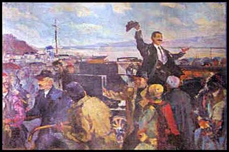 Luigj Gurakuqi, Kthimi ne Shkoder, Pikture