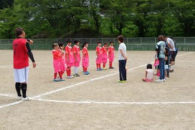 生坂サッカースクール 親子サッカー試合