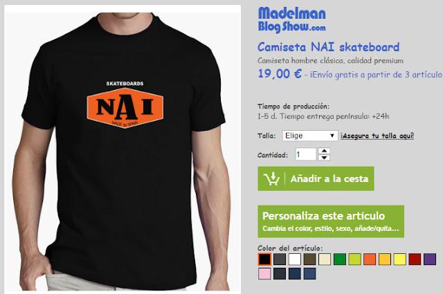 compra camiseta