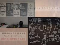 Lukis Dinding Cafe Murah | Lukis Dinding Profesional