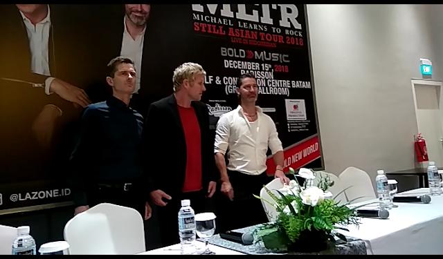 MLTR Live Concert di Batam