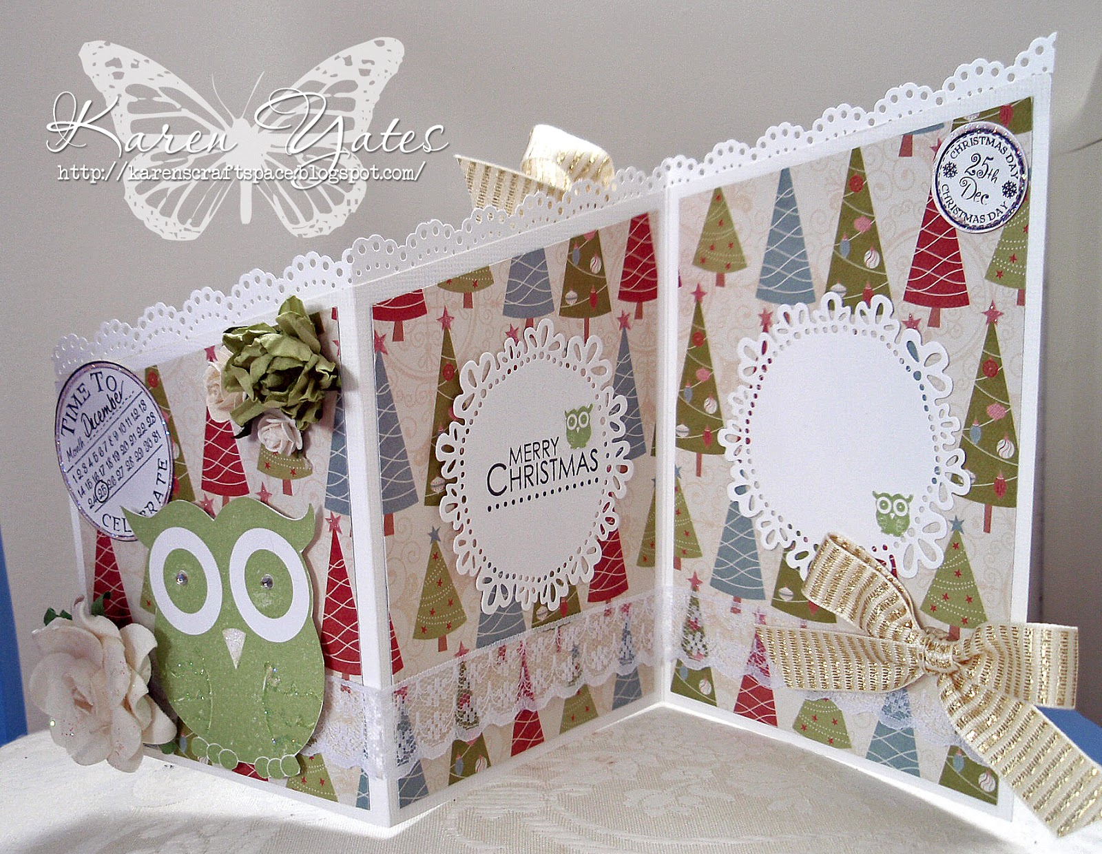 how to make a valley fold card