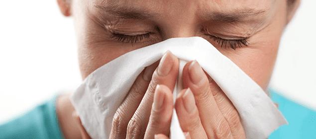 La mejor manera de secar la nariz que moquea