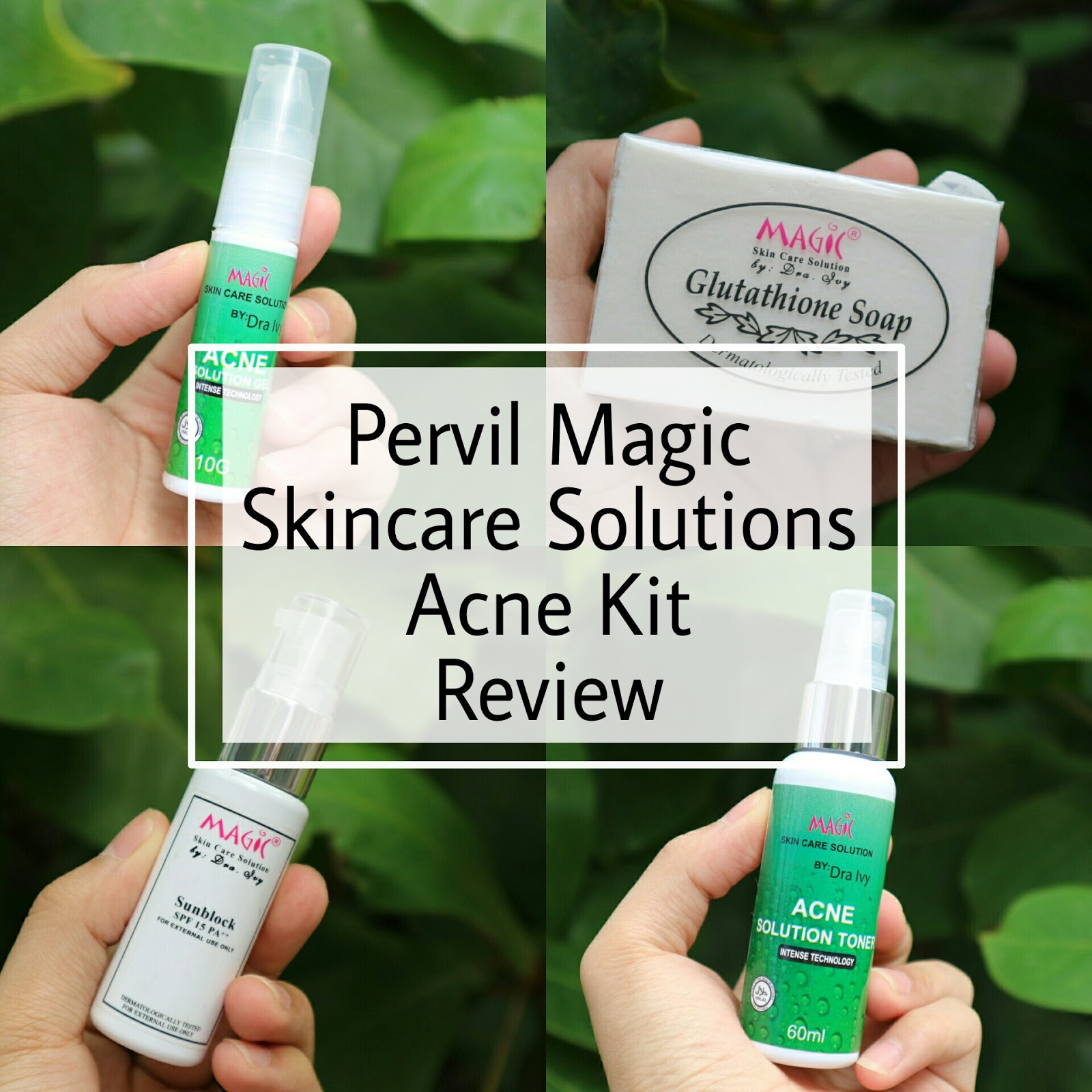 REVIEW: Pervil Magic Acne Kit by Dra  Ivy - Vanity Room