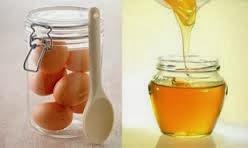 Trắng da nhờ mật ong + trứng gà