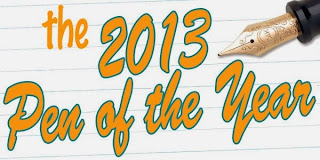 Vote for the 2013 Pen of the Year