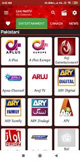 live net tv app download