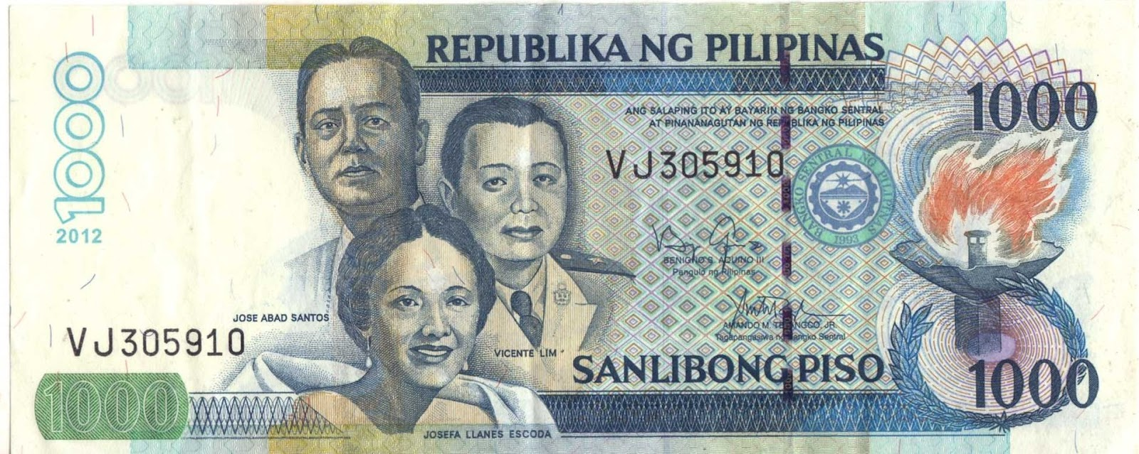 Pinoy Pop Culture: Notes on the New 1000-Peso Banknotes