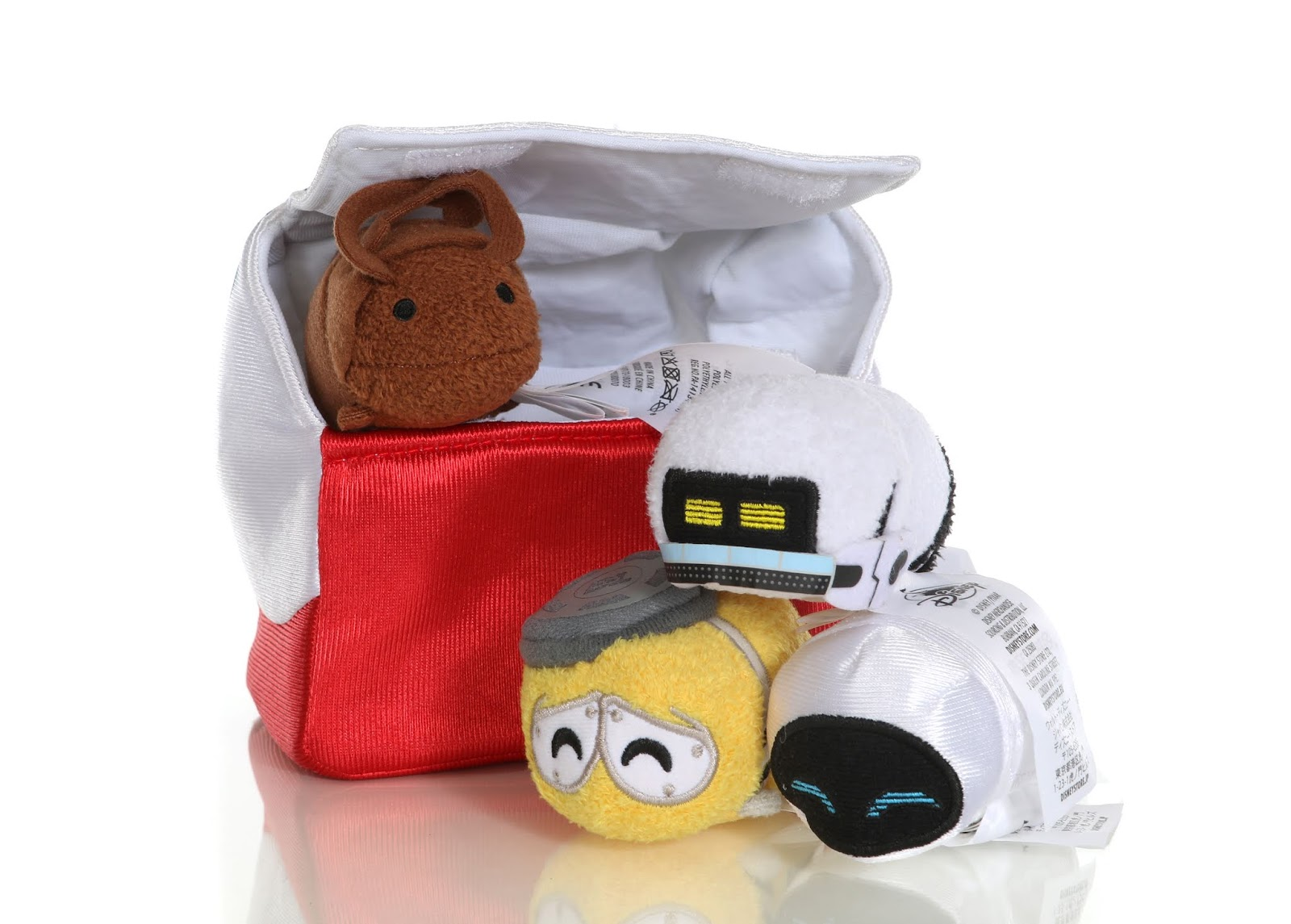 Disney Pixar Wall·E 10th Anniversary Mini ''Tsum Tsum'' Set