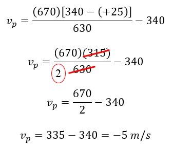 Contoh Soal dan Jawaban Efek Doppler (Menentukan Kecepatan Pengamat)