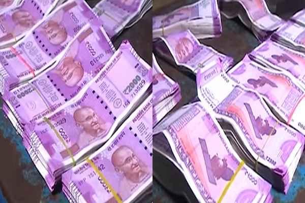 बंगलदेश बॉर्डर पर पकडे गए 4 लाख रुपये के नकली नोट