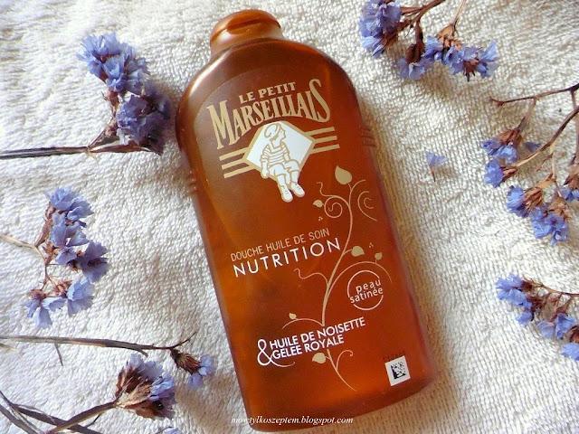 Le Petit Marseillais, olejek z orzechów laskowych i mleczko pszczele, LPM olejek do mycia