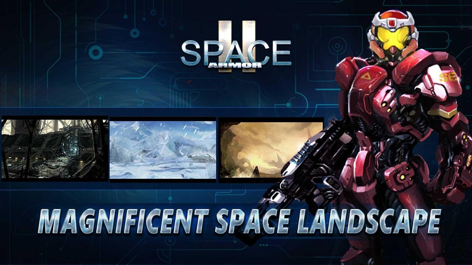 Download Space Armor 2 MOD APK terbaru