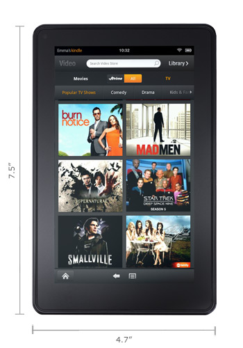 Amazon Kindle Fire review and specs