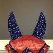 Red, White & Blue Ear Bonnet