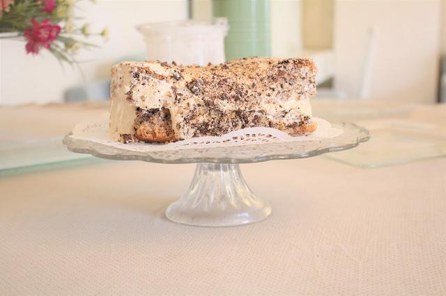 IMG 2760 - עוגת אגוזים וקרם מוקה משגעת לפסח