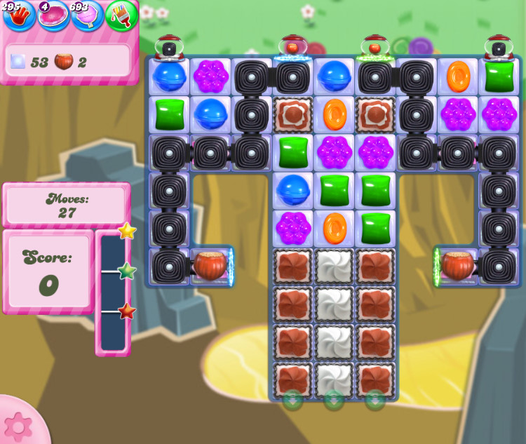 Candy Crush Saga level 2851